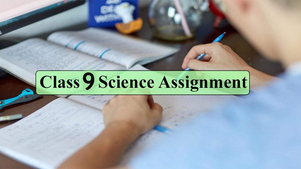 Class 9 Biggan Assignment Answer 2020